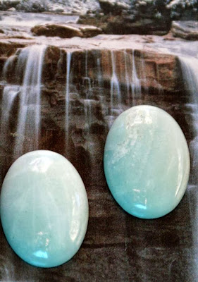 Ancaster Rock and Gem Show ~ the loot bag ~ Amazonite :: All Pretty Things