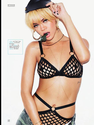 Rihanna sexy photos for Esquire UK July cover issue