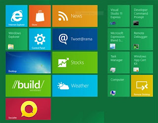 Windows 8 Screenshot Leaked