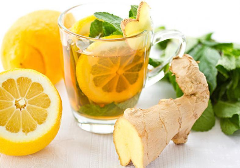 Картинки по запросу чай с лимоном и имбирём