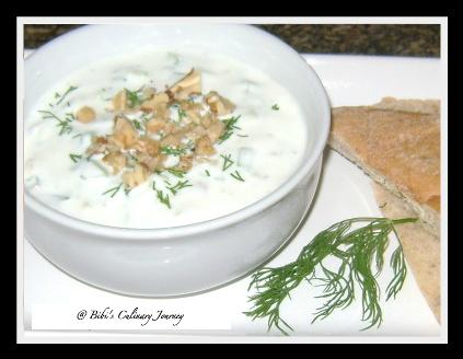 Tarator – Bulgarian Cucumber Soup