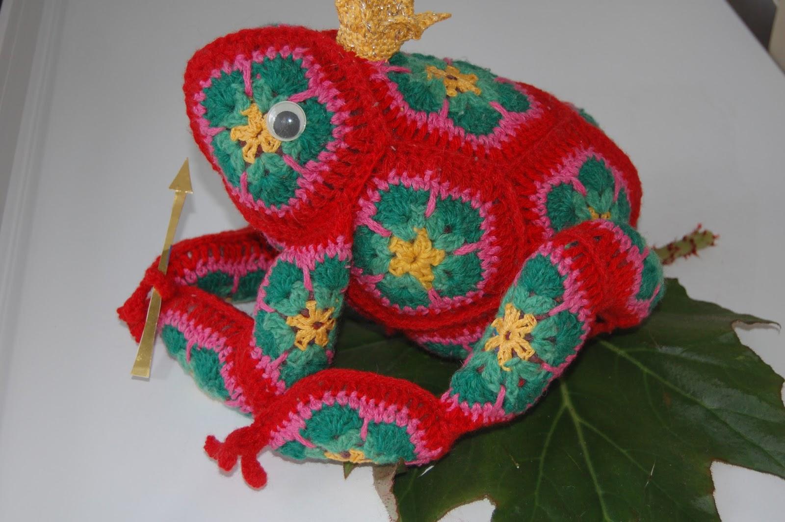 Черепаха из африканских мотивов крючком схемы