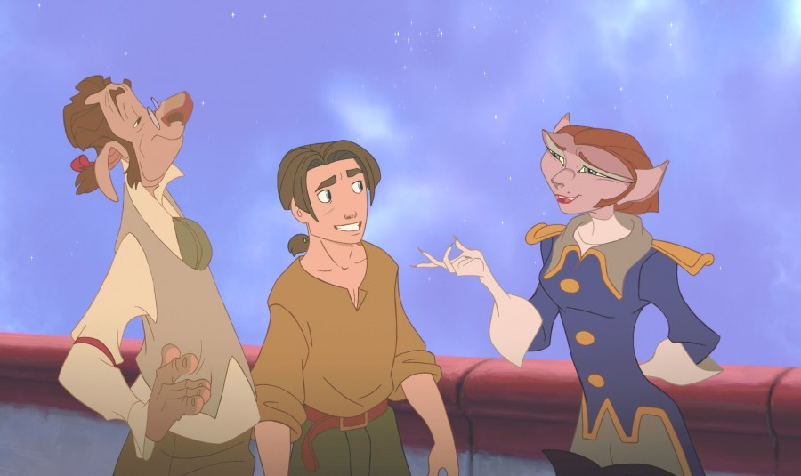 Film Guru Lad - Film Reviews: Treasure Planet Review (Updated)