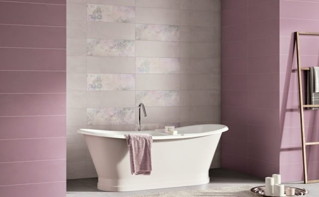 decorating bathroom ideas lilac