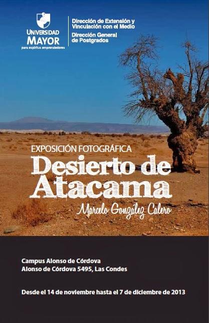 """[Expo """"Desierto de Atacama""""]"""