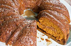 Soggy Bottom Pumpkin Cardamom Coffee Cake