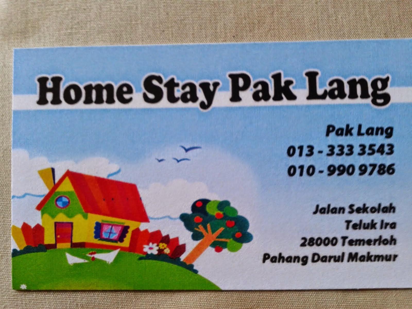 Iklan Bajet : Homestay Bajet : Pahang
