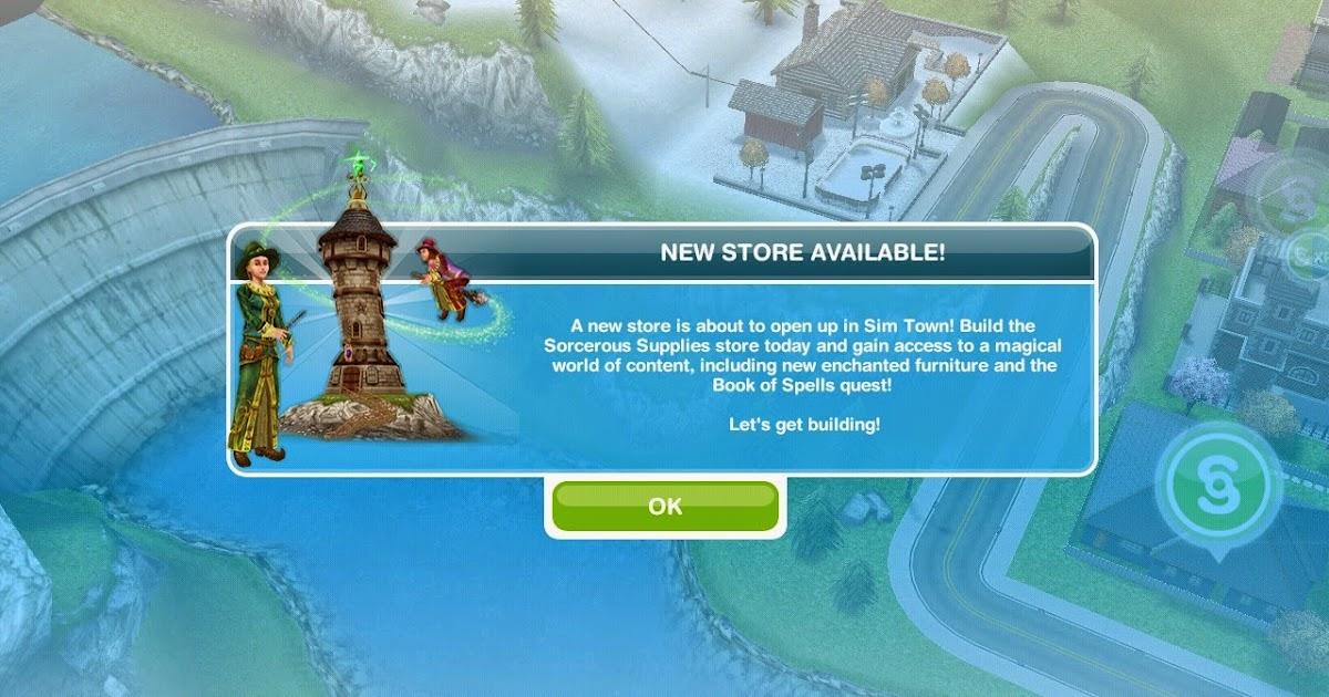 Sims Freeplay Book Of Spells Unlock Door To Wand Room