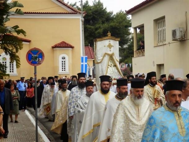 Η γιορτή της Αναλήψεως του Χριστού στη Καλαμάτα