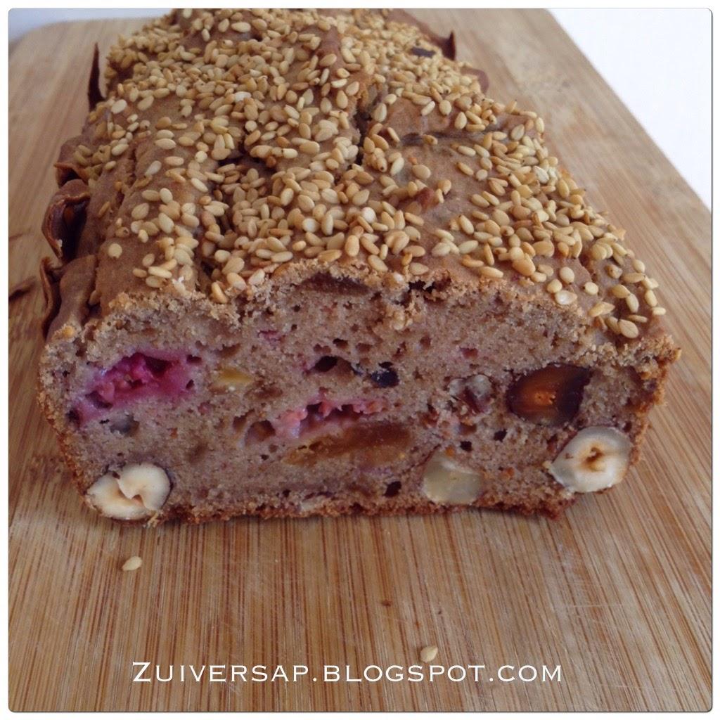 Boekweit-vruchtenbrood