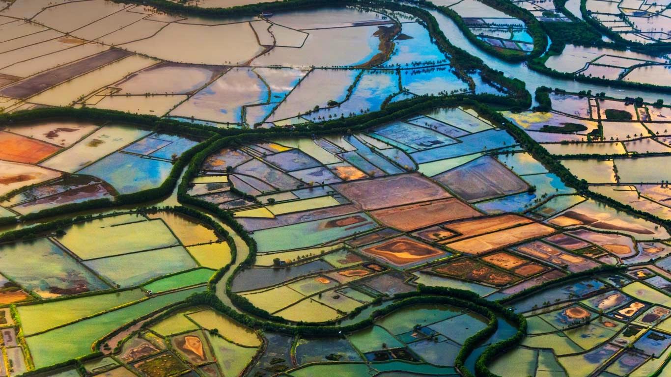 Farmland in Makassar, South Sulawesi, Indonesia (© Keren Su/Corbis) 16