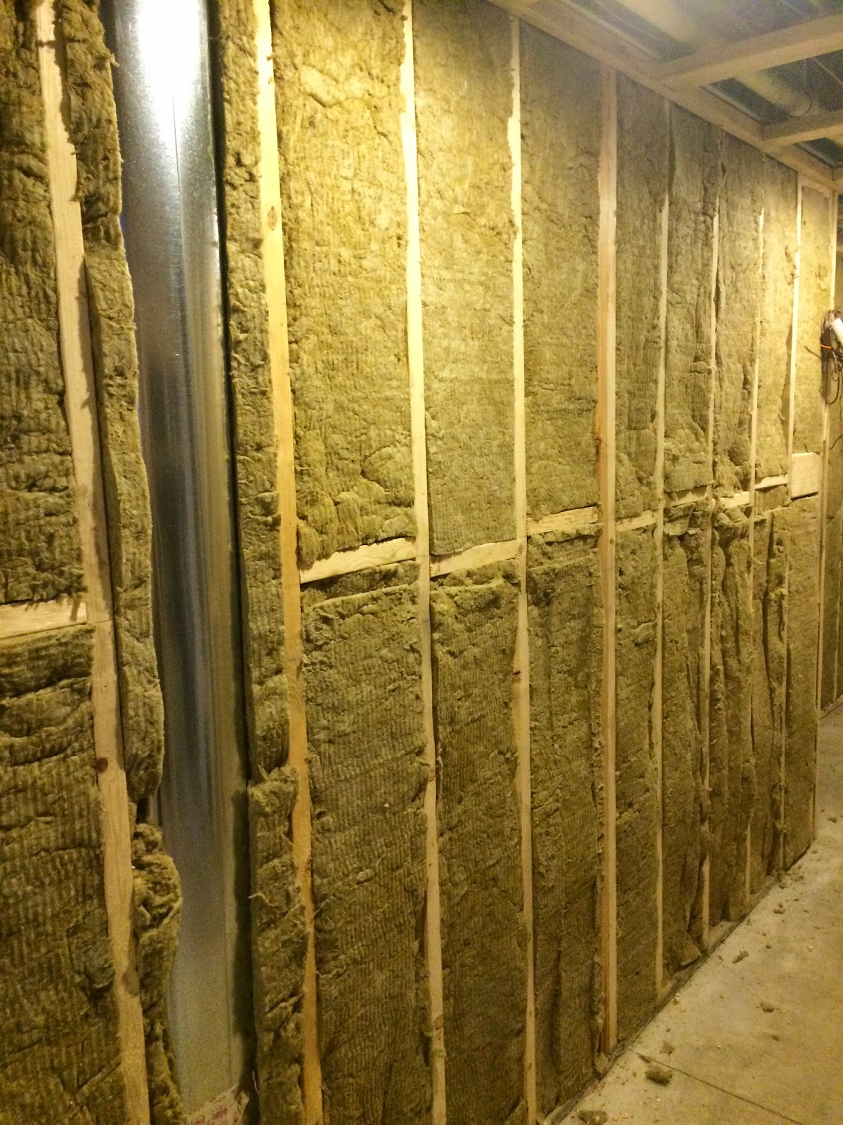 The polymath chronicles the love pit part 1 for Rockwool blown insulation