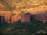 La Roca Rodona des de Can Jaume