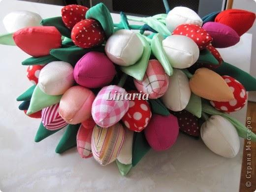 МК Тильда-тюльпаны
