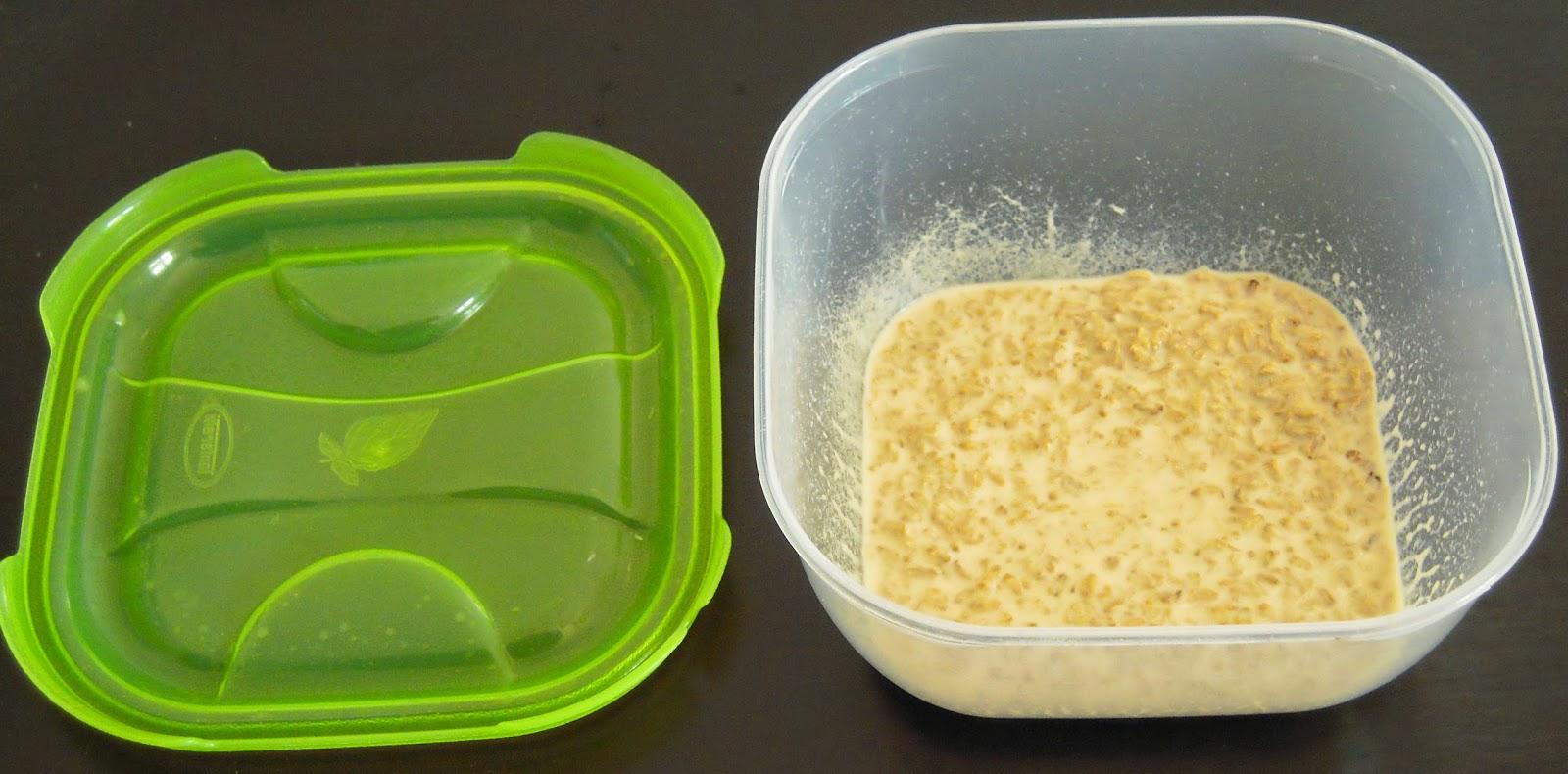 un classico contenitore per alimenti, ideale per una coltura di Microworms