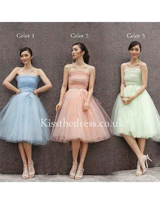 different colors bridesmaid dress