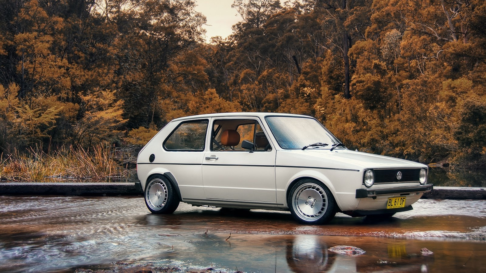 Vw Golf Mk1 Mystery Wallpaper
