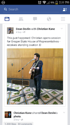 Christian opening session for Oregon State House