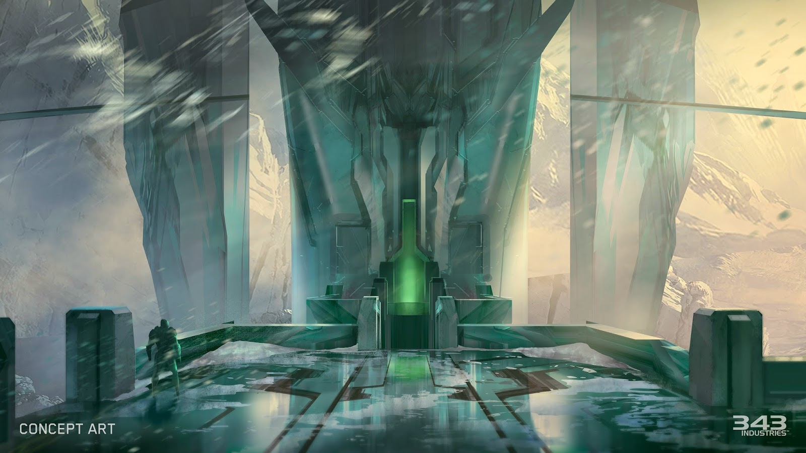 lock out map concept art halo 2