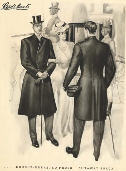 Art Nouveau Mens Clothing