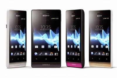 Harga HP Sony Xperia Terbaru Agustus 2014