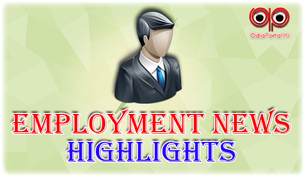 Students: Employment News Highlights (August 1 to August 7)