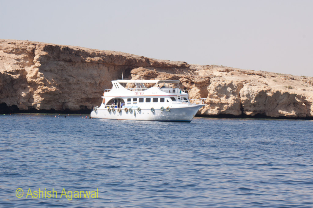 Ship close to the shoreline so that passengers can get access to coral reefs