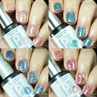 Light Elegance P+ Glitter Gels