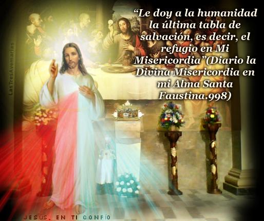fotografia de jesus con mensaje  de la divina misericordia