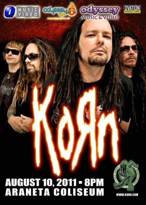 KORN Live in Manila at SMART Araneta Coliseum, Ticket Prices,