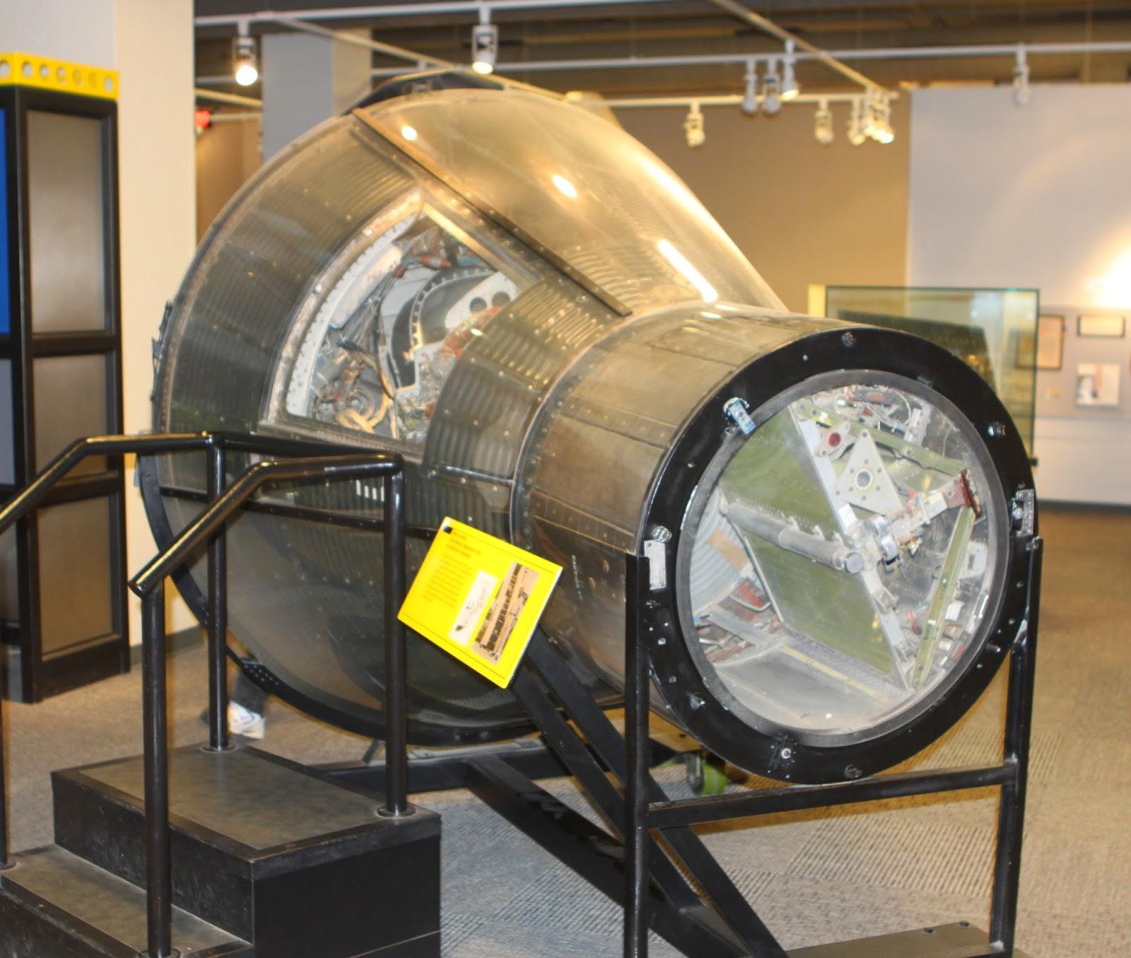 Cápsula de la Mercury 5