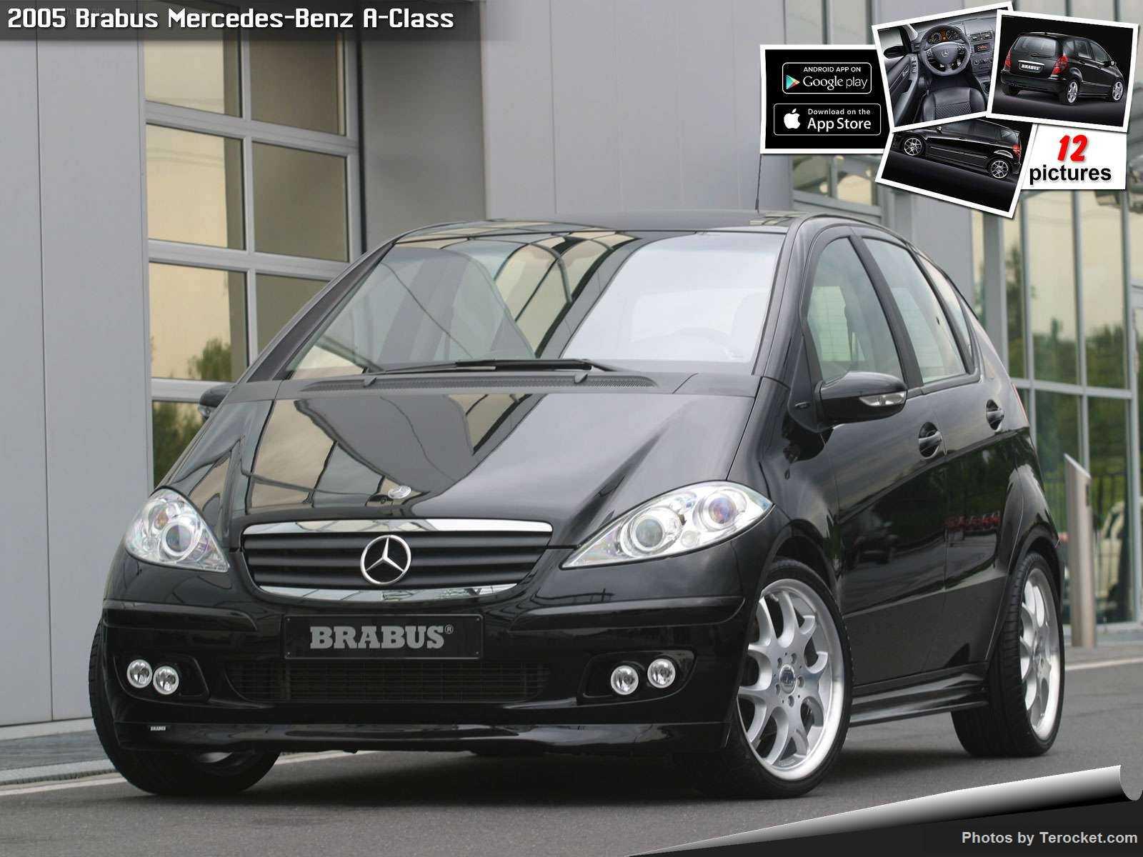 Hình ảnh xe ô tô Brabus Mercedes-Benz A-Class 2005 & nội ngoại thất