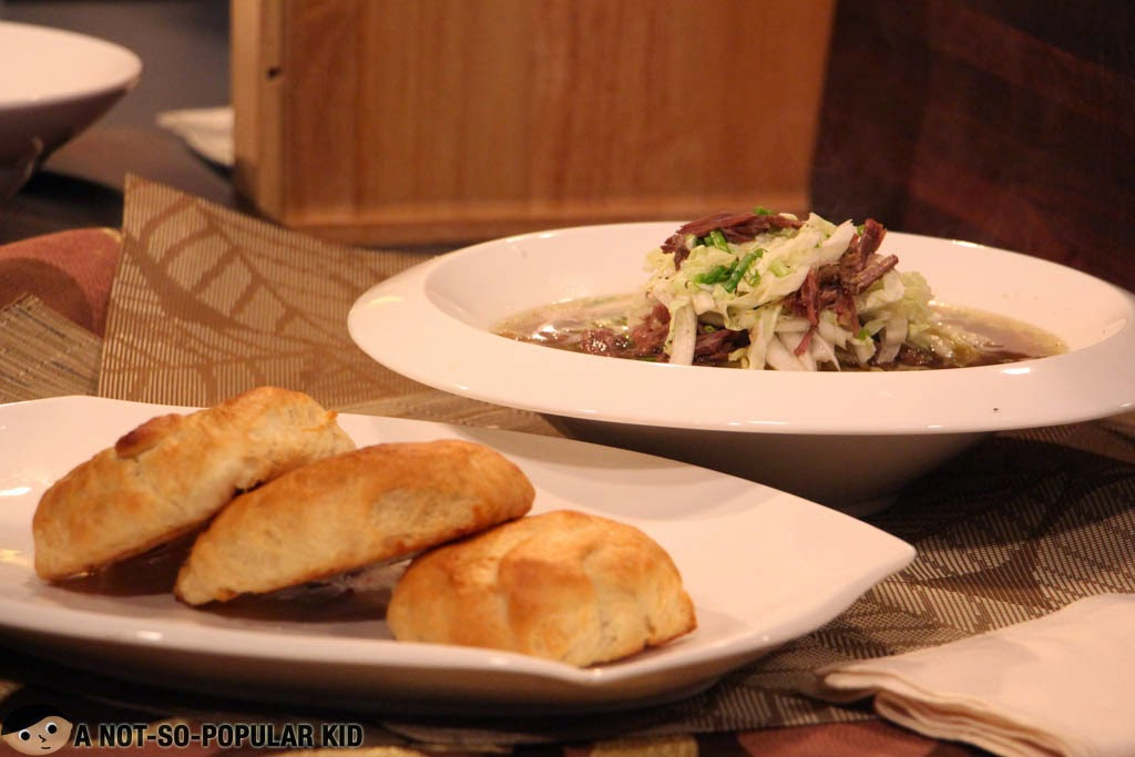 Recipe for Mami and Toasted Siopao - Chef Boy Logro