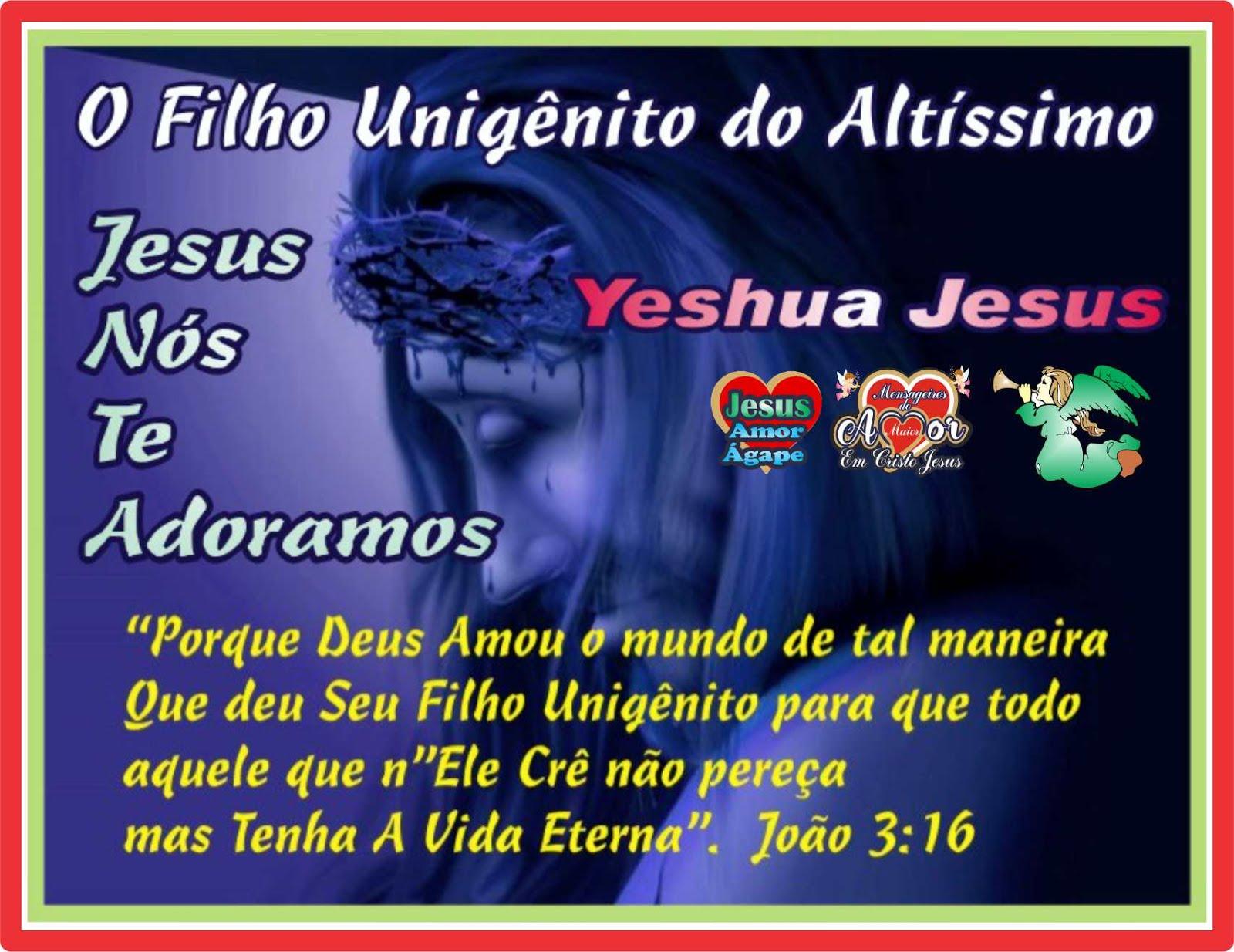 O Maior Amor do Universo Jesus Cristo