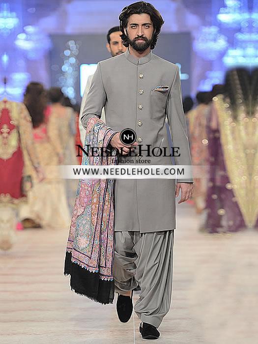 Shop Zara Shahjahan Sherwani Suit Groom Collection | Bespoke ...