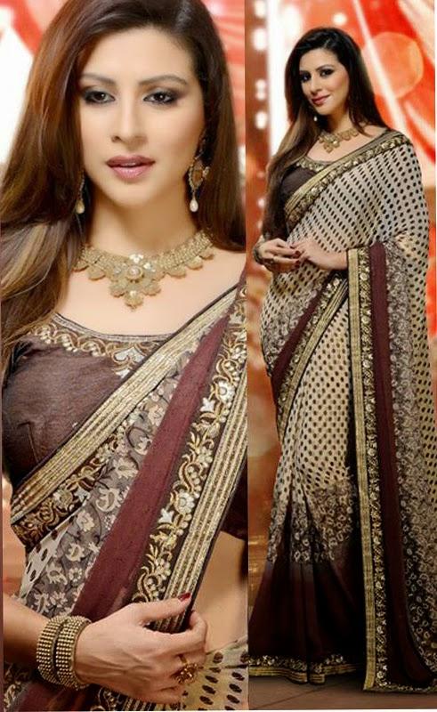 Buy Online Heavy Designer Saree