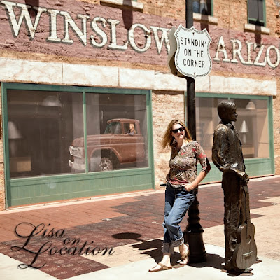 Winslow, Arizona, Standin' on the Corner Park, New Braunfels photographer