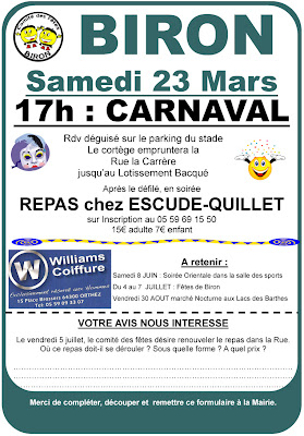 Carnaval 2013 à Biron