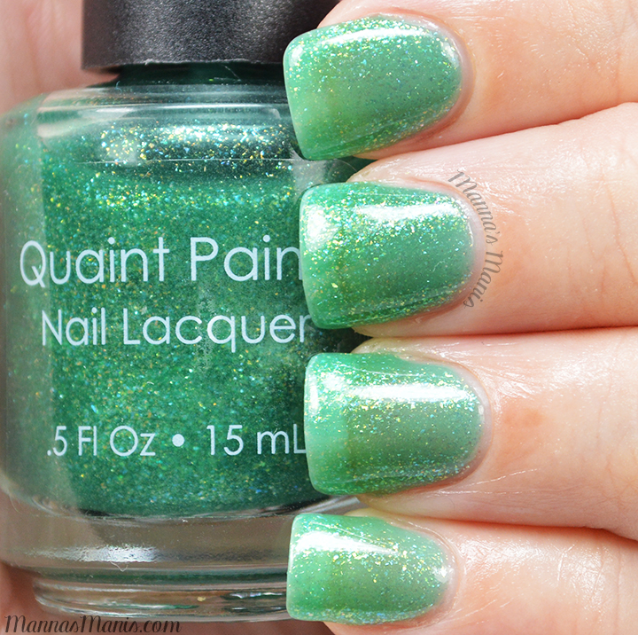 Quaint Paints Luck O' The Polish swatches