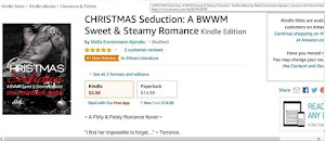 ✨🔥🔥🔥🔥CHRISTMAS Seduction was Amazon #1 New Release 🔥🔥🔥🔥✨