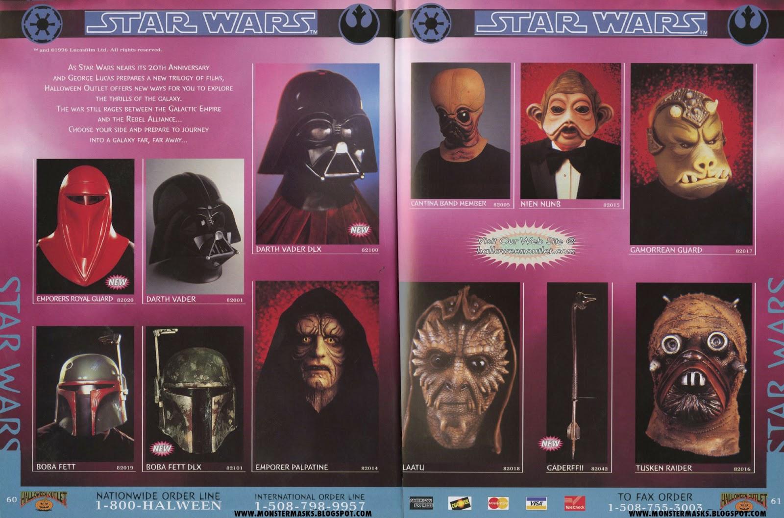 1996 halloween outlet catalog part 5 - Halloween Catalog