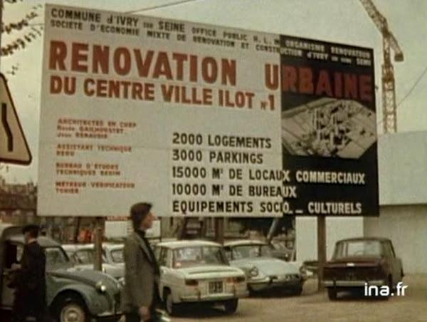 astudejaoublie - Ivry-sur-Seine - Ensemble de logements - 1970-1975.  logements Casanova, logements rue Jean-Baptiste Clément, rue Georges Gosnat (ex rue Lénine), logements Cité du Parc, l'école Albert Einstein.  Architecte: Jean Renaudie.
