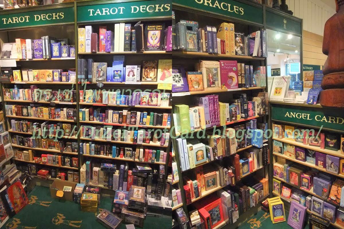 ไพ่ทาโร่ ไพ่ทาโรต์ ชั้นหนังสือ ขายไพ่ ซื้อไพ่ ไพ่ยิปซี ไพ่ทาโรต์ ไพ่ป๊อก ไพ่ออราเคิล Tarot Card Shelf Oracle card decks ขายไพ่ยิปซี Watkins books london ลอนดอน อังกฤษ ต่างประเทศ
