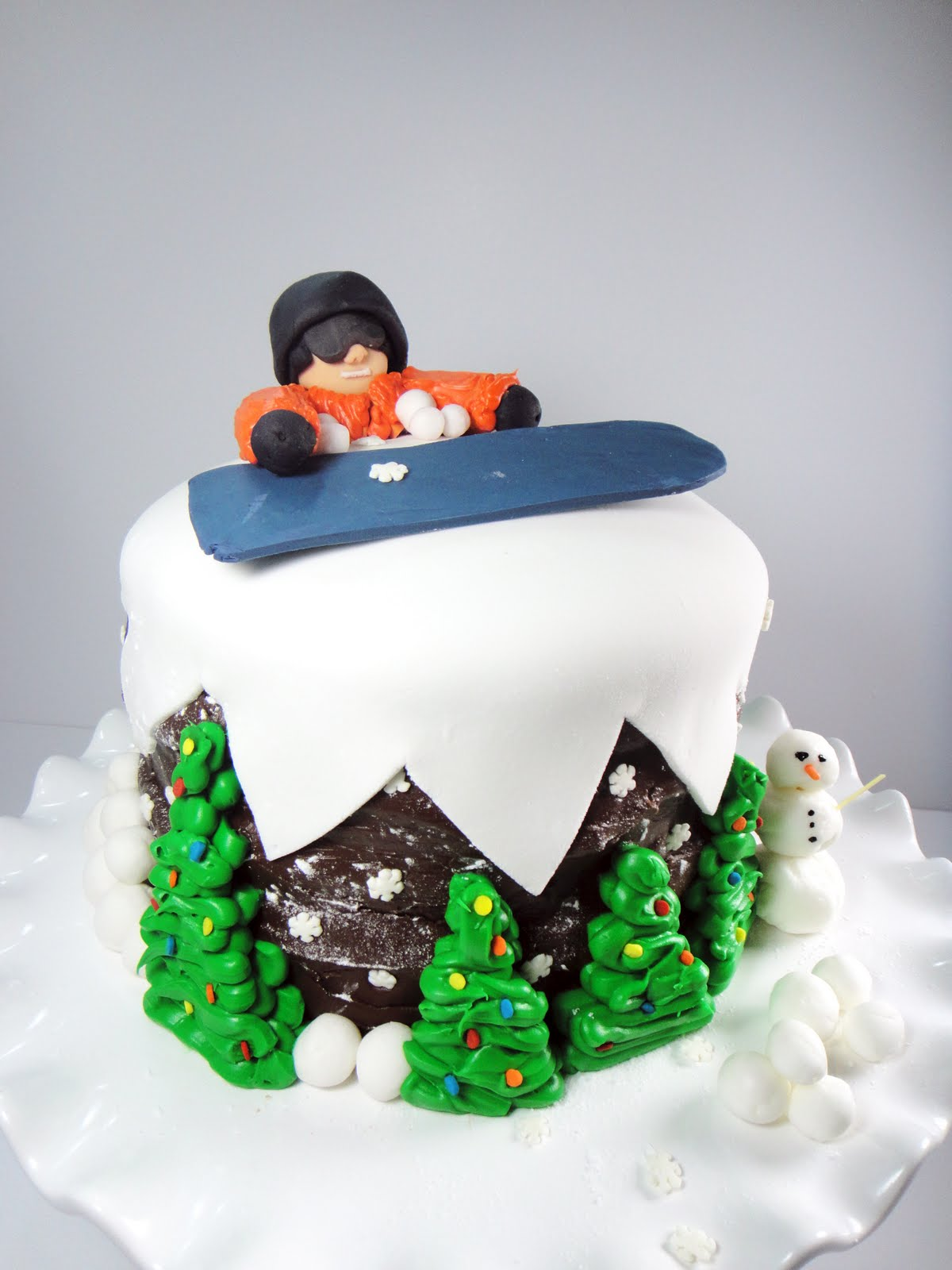 Cake Decorating Ideas Skiing Dmost for