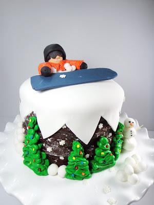 Christmas Cake Fondant Icing Decorations