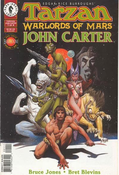 John Carter Book Cover Art : The crossover universe covers tarzan john