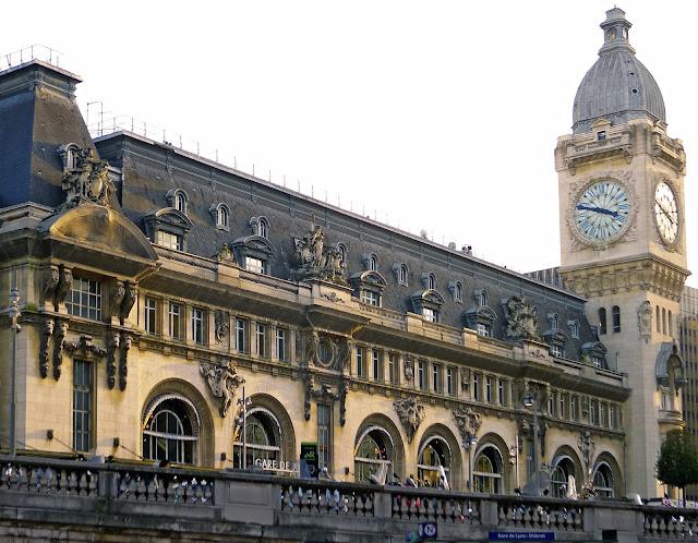 Viajar em trem de Lisboa a Lyon
