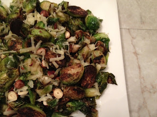 MB Post butter brussels sprouts with hazelnuts, emmental cheese and sage recipe