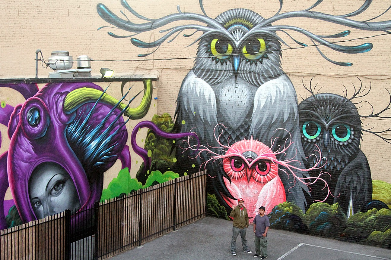 Jeff soto maxx242 create a new mural in downtown for Mural work using m seal