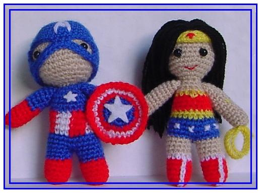 Amigurumi Wonder Woman : El mundo de los Amigurumis : Wonder Woman amigurumi